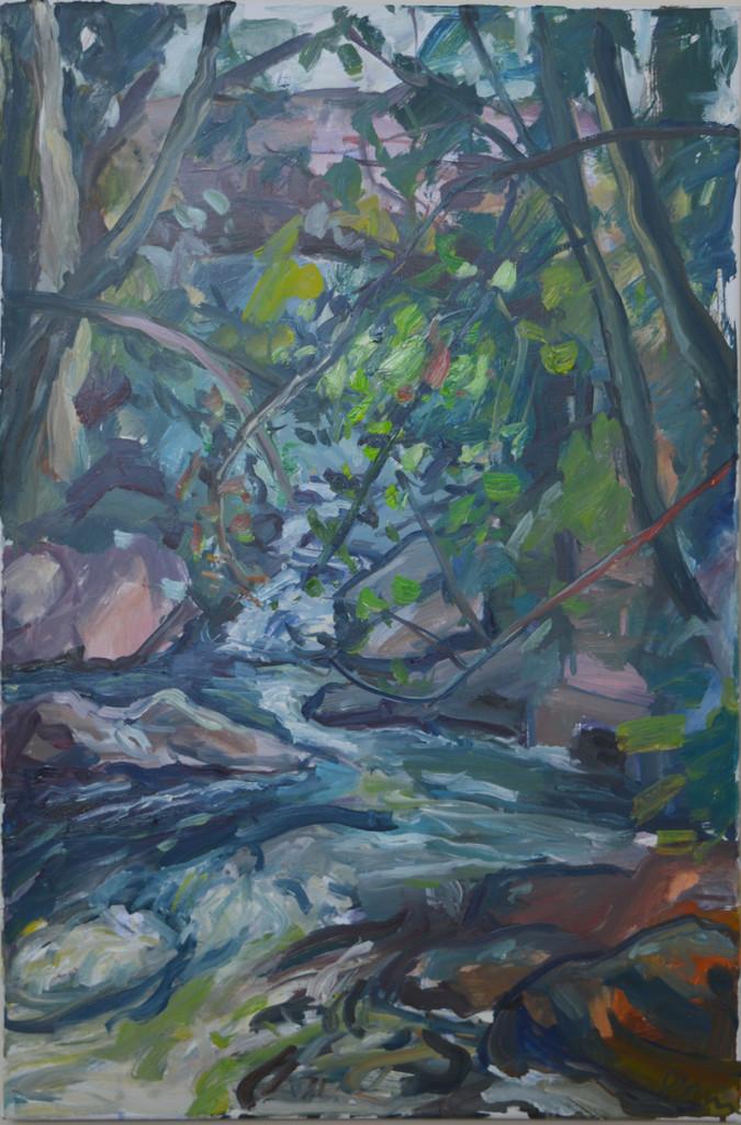Pat Irwin - Largy Bridge Summer