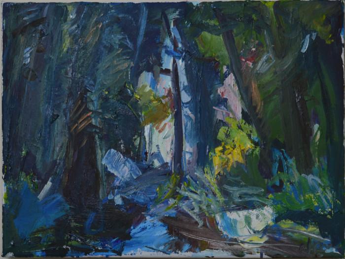 Pat Irwin - Noreen's Bluebell Woodland