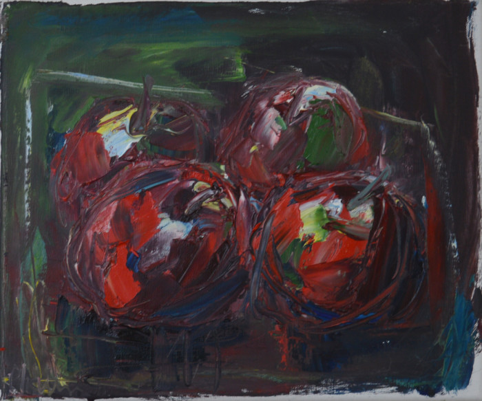 Pat Irwin - Still Life of Apples